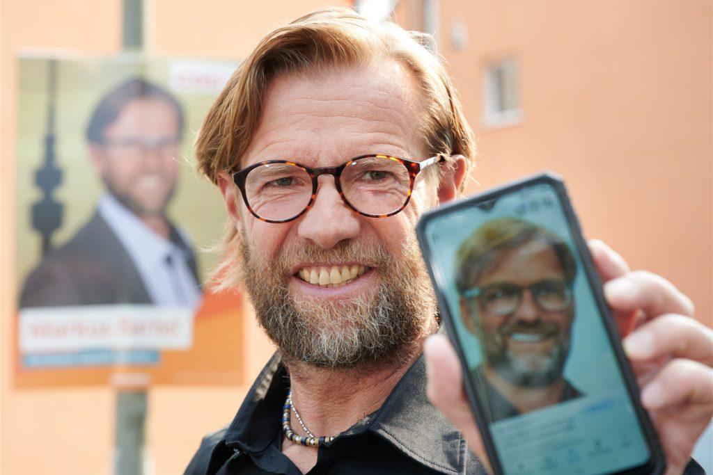 Dortmunder CDU-Mann Markus Bartel sieht Jürgen Klopp zum Verwechseln ähnlich.