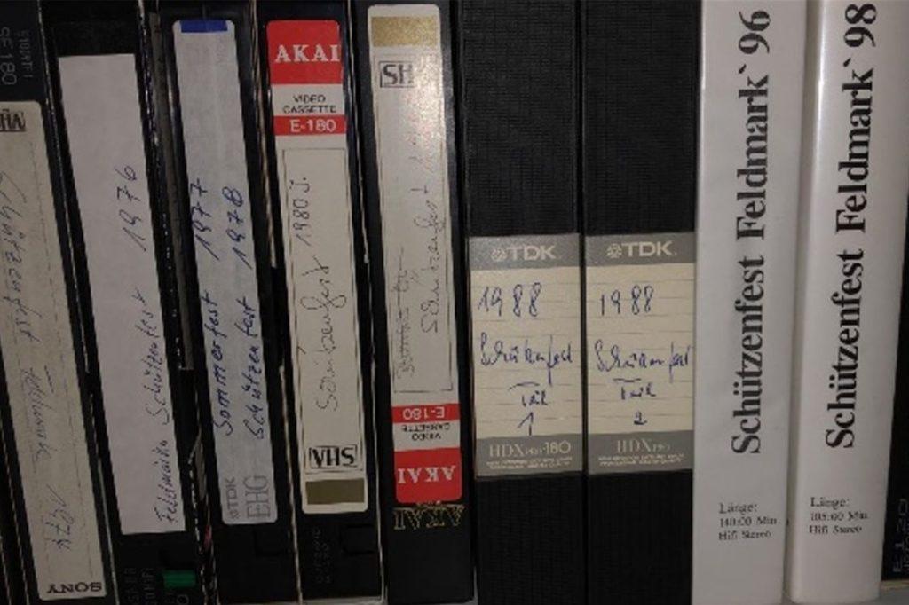 Das Filmmaterial war zum Teil jahrzehntelang in einem Schrank verstaut.