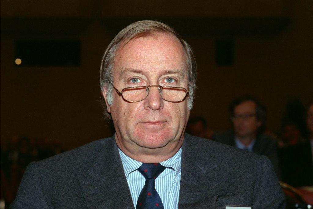 Detlev Karsten Rohwedder, aufgenommen im Juni 1990 in Dortmund .