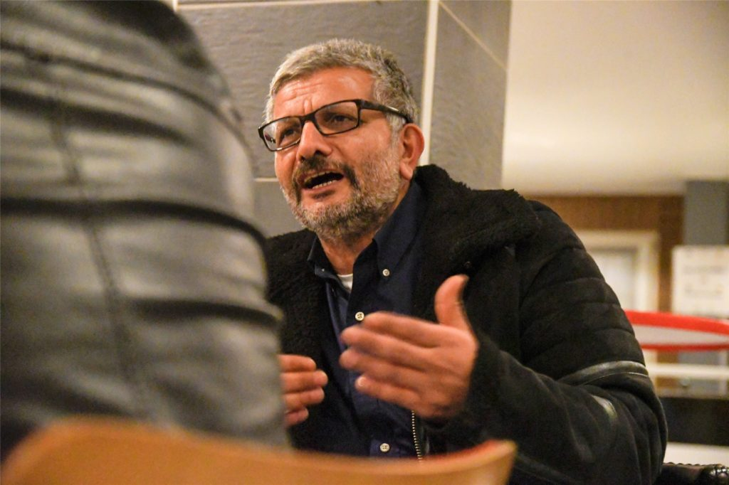 Hüseyin Tekin, sportlicher Leiter der SG Gahmen, hofft auf einen Sieg im Derby gegen Lünen.