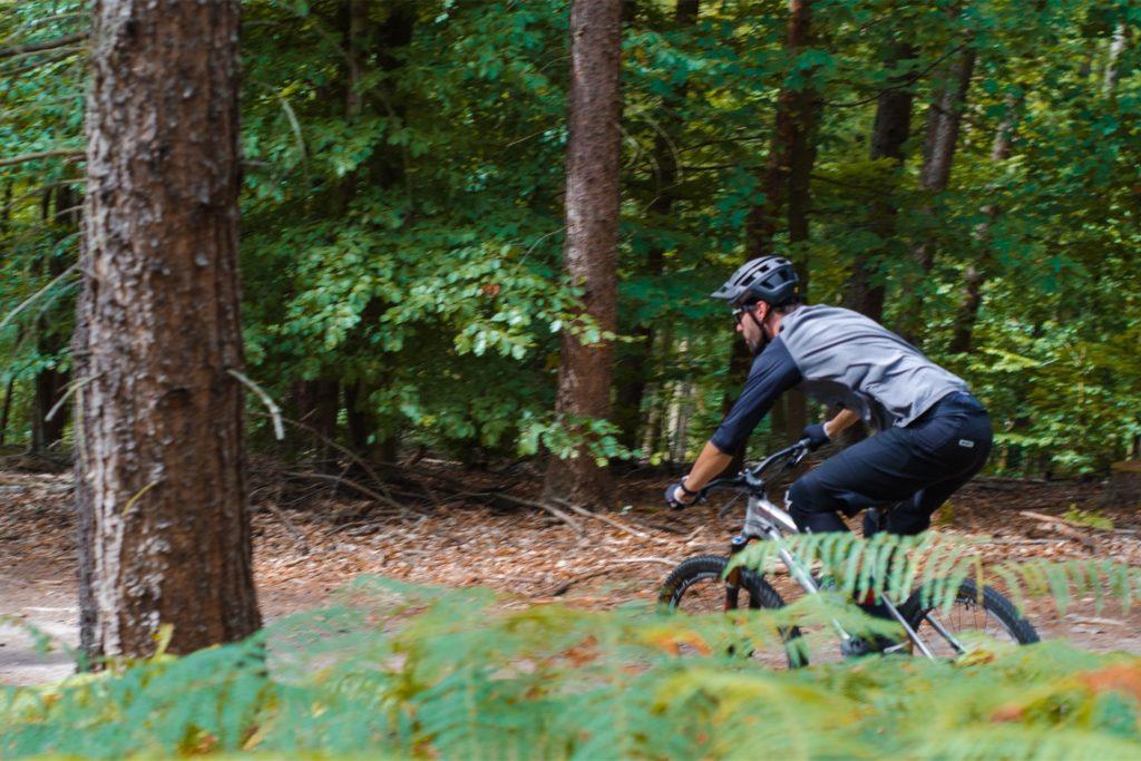 Matthias Kooke hat die eine Strecke für Mountainbiker in Dortmund mitgestaltet.