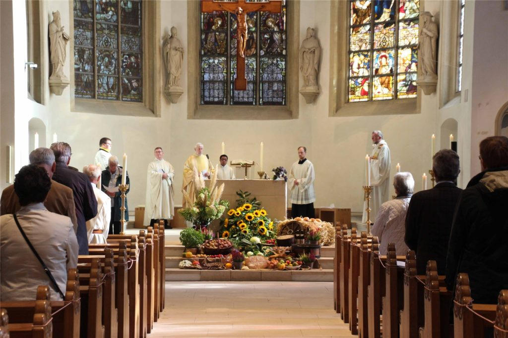 Ein feierlicher Gottesdienst fand in der St.-Christophorus-Kirche zum Jubiläum statt.