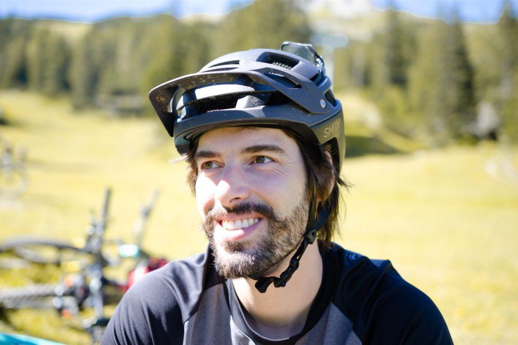 Matthias Kooke hat eine Strecke für Mountainbiker in Dortmund mitgestaltet.
