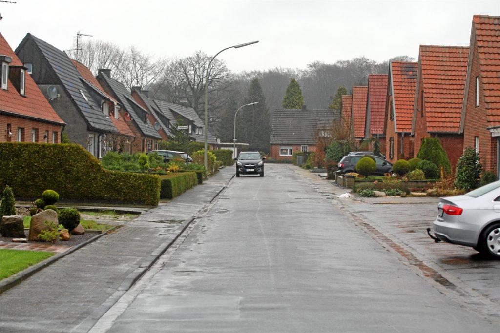 Die Blumenstraße soll ausgebaut werden.