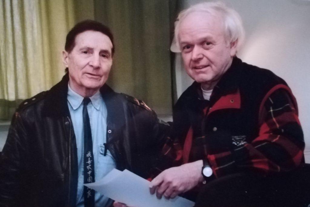 Diethelm Textoris waren die Interviews mit Freddy Quinn eine große Freude.