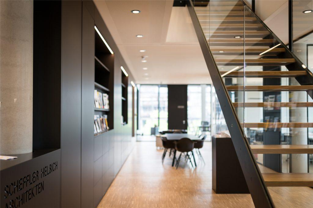 Das Architekturbüro Scheffler Helbich (SHA) ist einer der Nutzer im