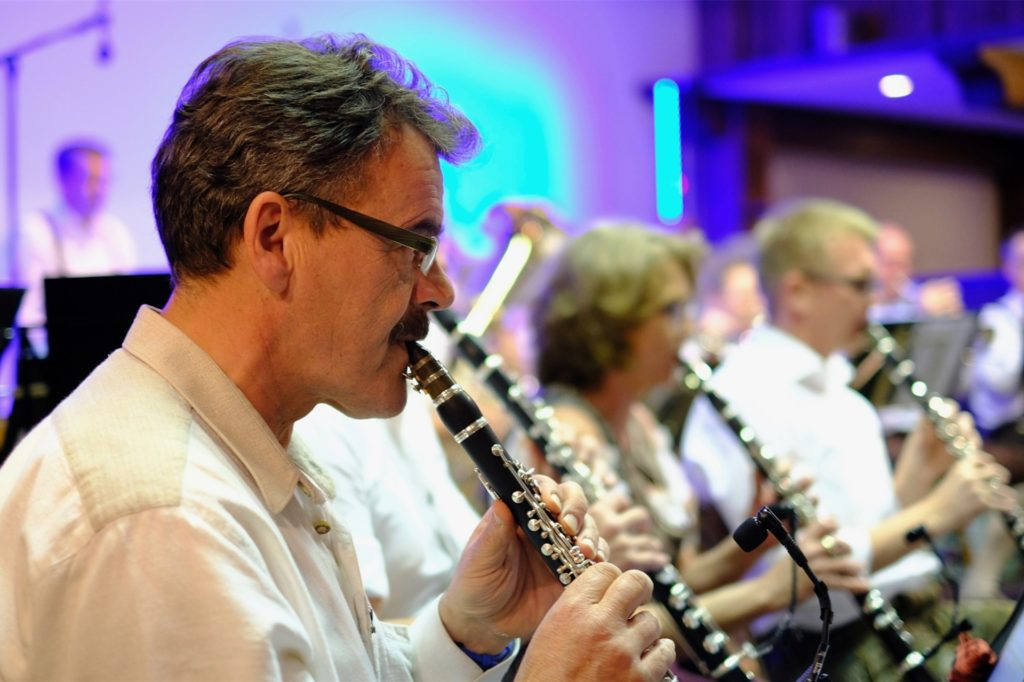 Der Ahauser Musiker Josef Rickers spielt ebenfalls bei den Grenzland Musikanten.