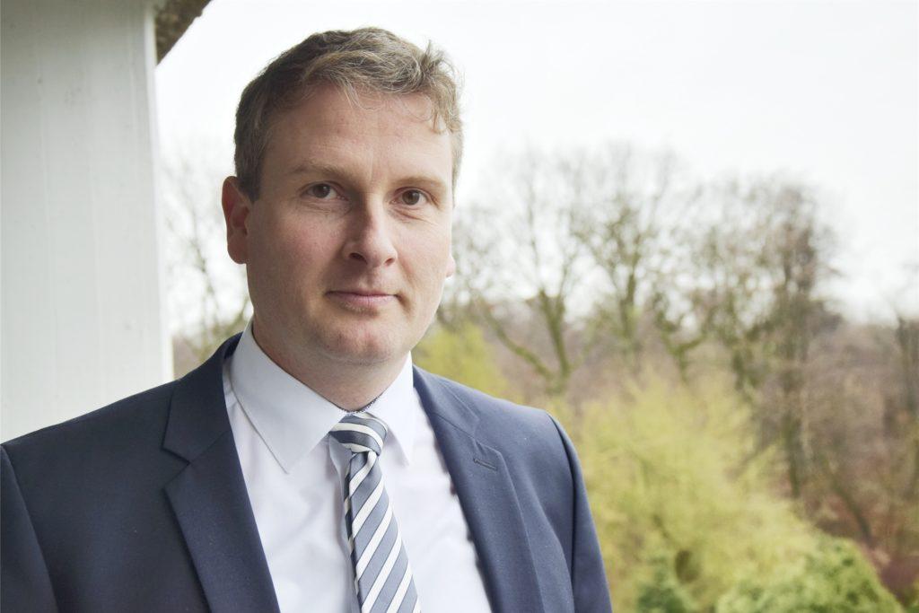 Gerhard Glock ist Verwaltungsdirektor des Evangelischen Krankenhauses (EvK) Castrop-Rauxel.