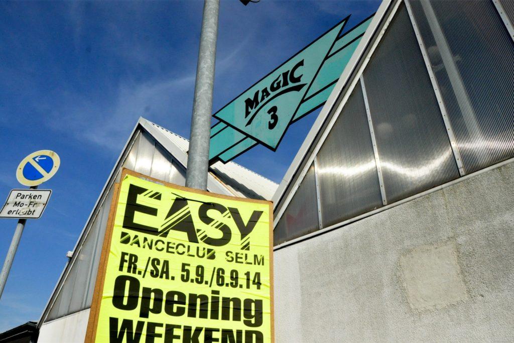 Aus dem Magic 3 wurde 2014 der Easy Danceclub.