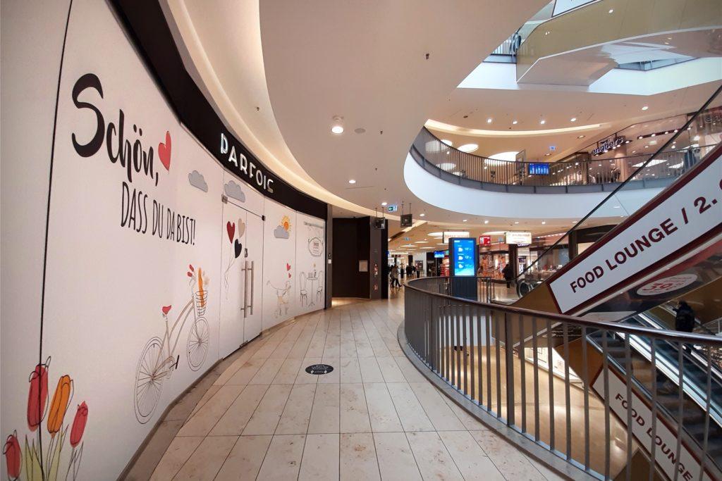 Einer von 11 aktuell leeren Läden in der Thier-Galerie: Parfois machte im September seinen Shop im Erdgeschoss zu.