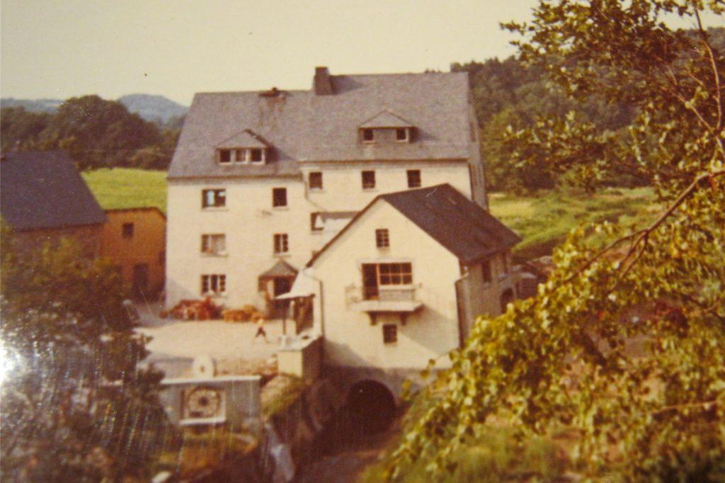 Das ist die Hirsemühle in Oberzeuzheim, die den Borker Kindern 1970 damals als Herberge diente.