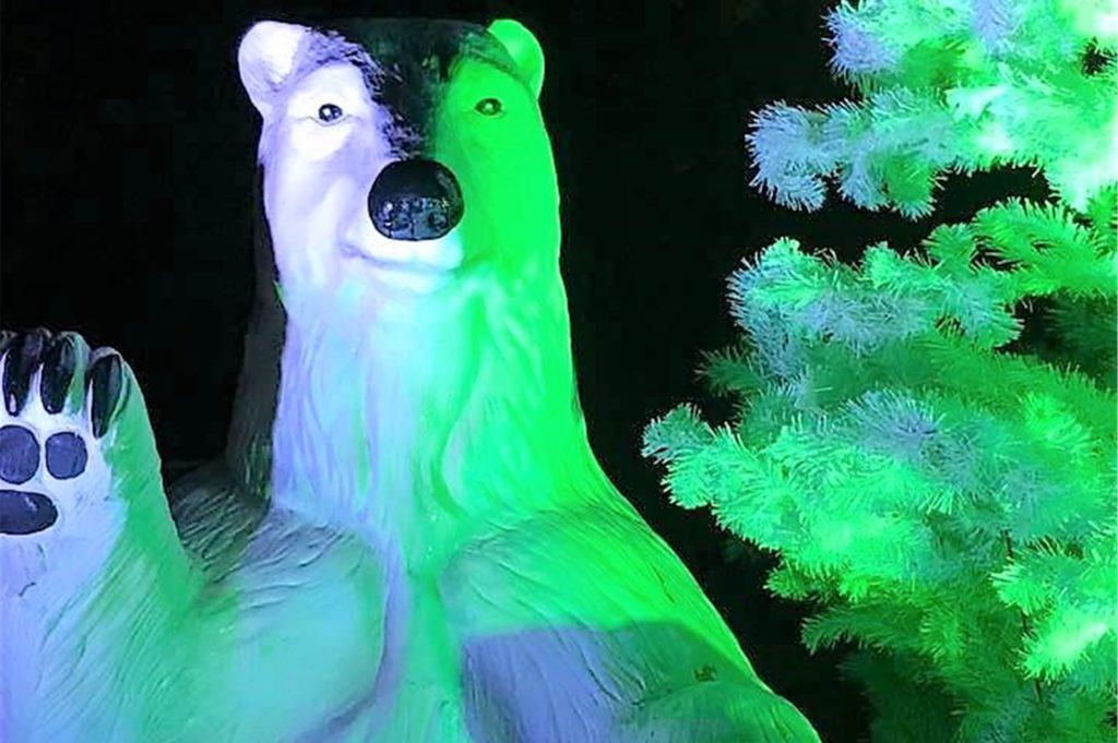 Welche neuen Leucht-Figuren aufgebaut werden, will Ingo Plettner nicht verraten.