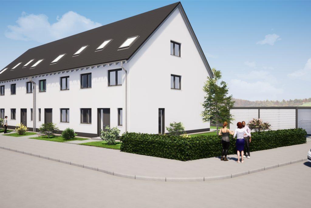 Die Häuser gingen weg wie warme Semmeln, noch immer erreichen den Bauherrn Anfragen interessierter Käufer.