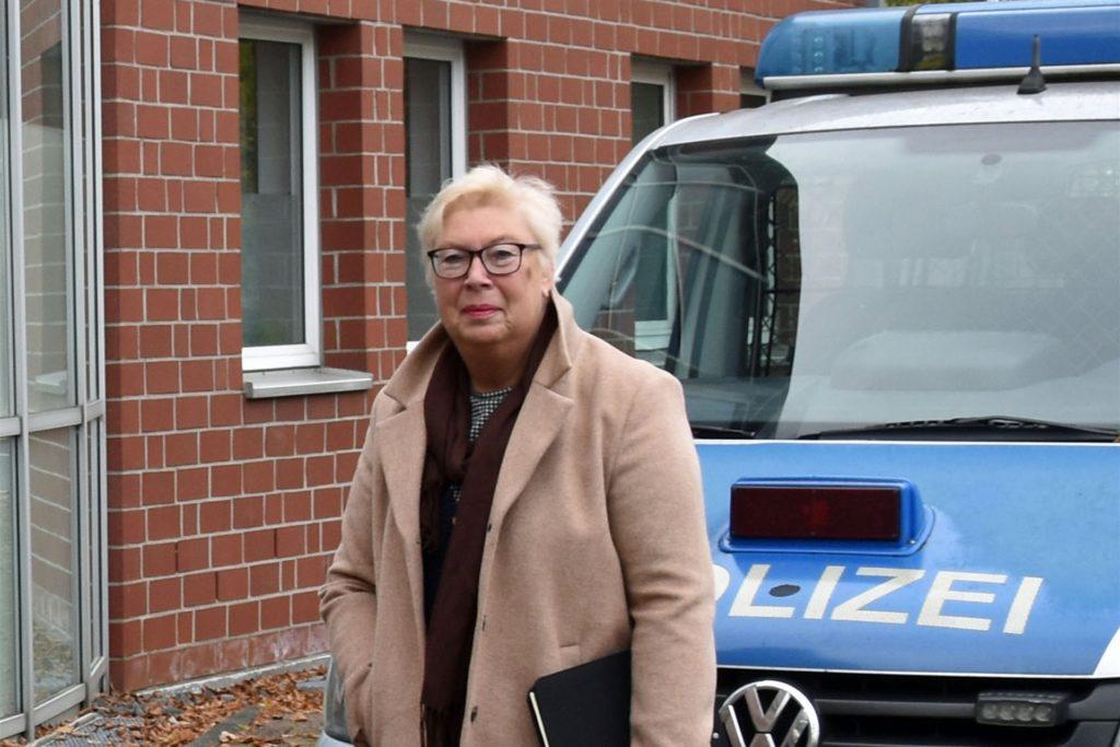 Sabine Liedmann ist Psychologin und arbeitet ehrenamtlich für den Weißen Ring im Kreis Recklinghausen.