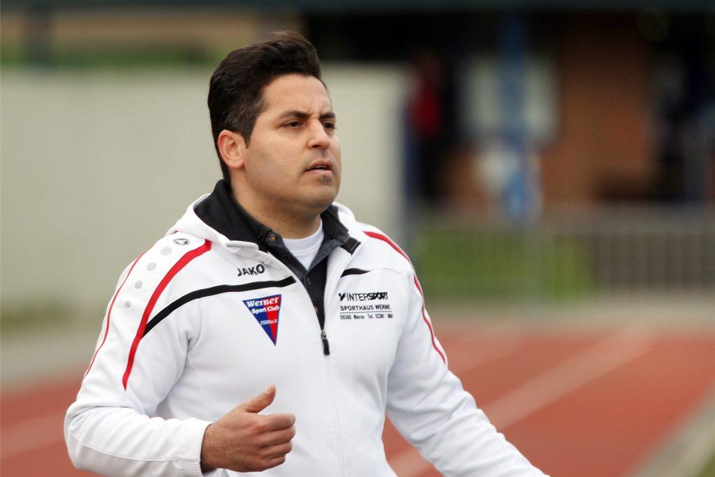 Kurtulus Öztürk, hier noch als Trainer des Werner SC.