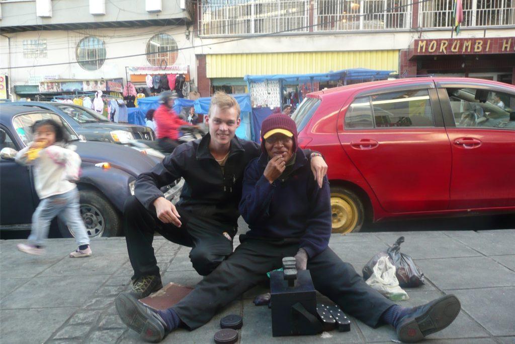 Nils Freundt war 2013 als Freiwilliger in La Paz/Bolivien - so wie weitere junge Menschen aus Haltern vor und nach ihm auch.