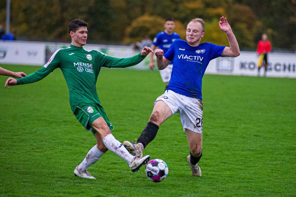 Jonah Sandkühler hat sich in die Oberliga-Mannschaft des TuS Haltern am See gekämpft.