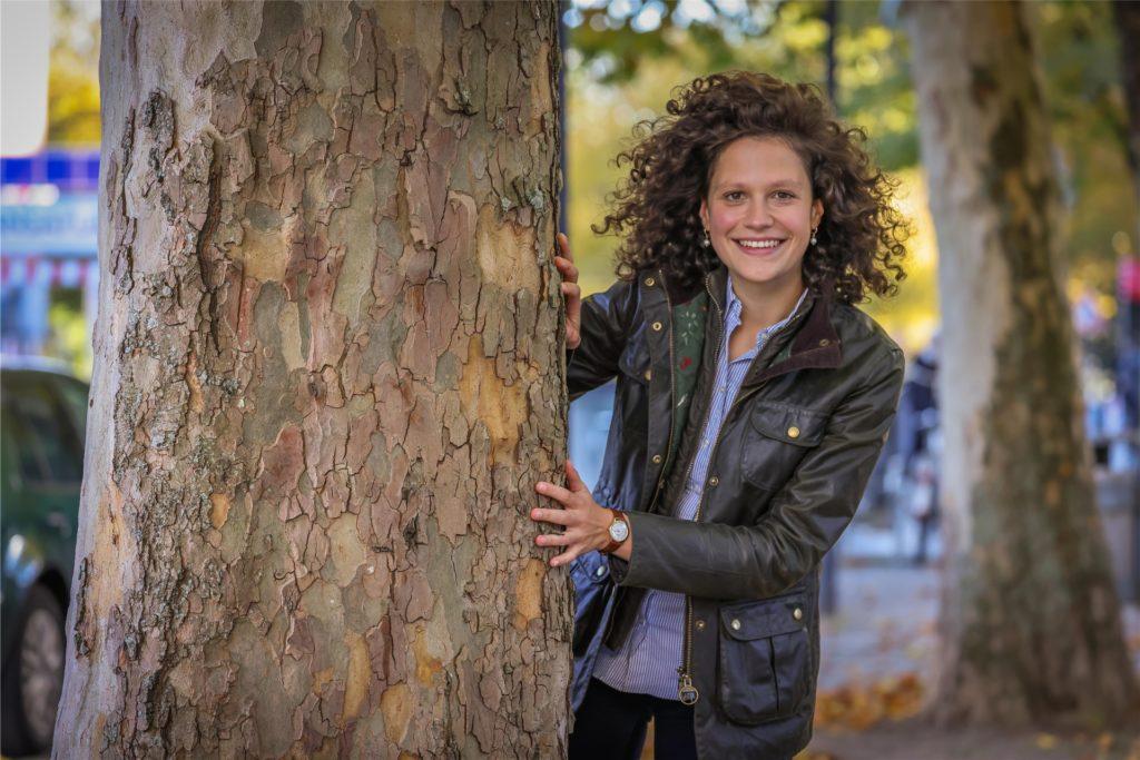 Sarah Beckhoff ist Politikerin mit Model-Qualitäten.