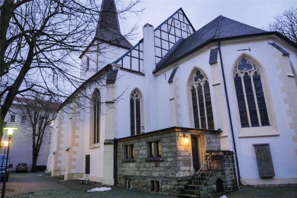 Im Kirchturm der Stadtkirche St. Georg schlummerte die Erinnerungstafel an die Waterloo-Veteranen im Dornröschenschlaf.