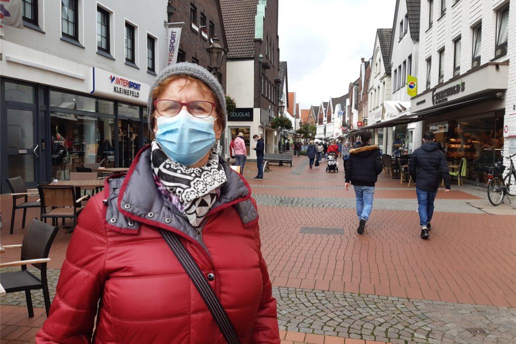 """Margarete Stevermüer hält die neuen Maßnahmen für """"absolut angemessen""""."""
