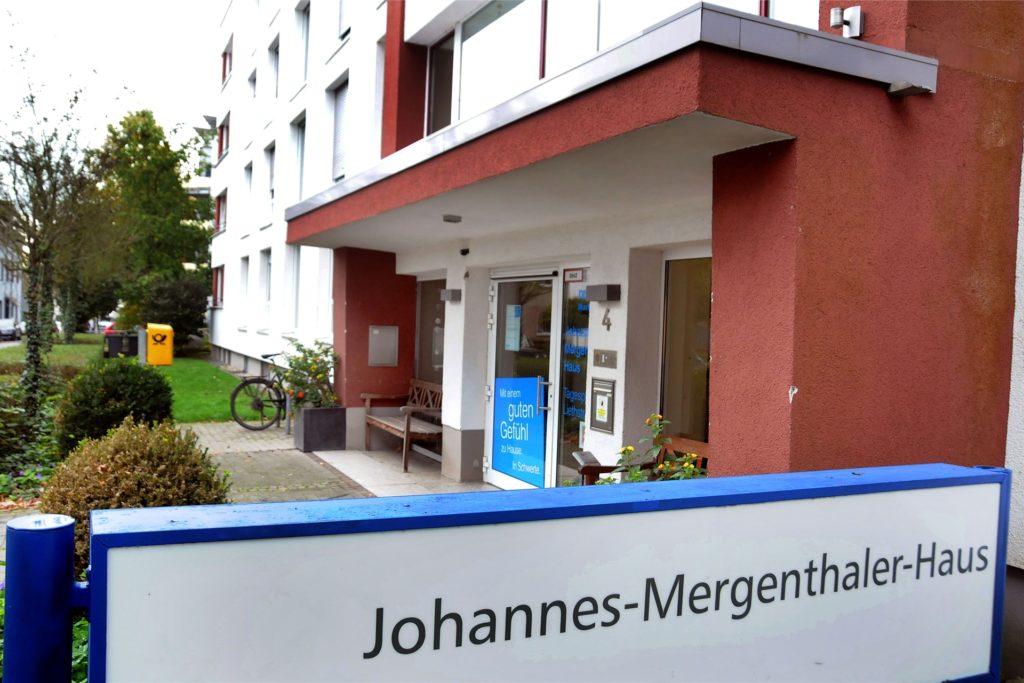 Das Johannes-Mergenthaler-Haus an der Liethstraße ist ein Seniorenheim der Diakonie Mark-Ruhr.