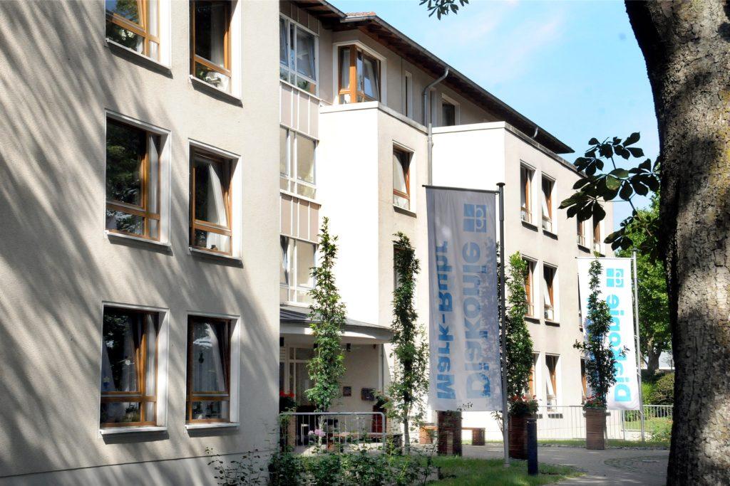 Das Klara-Röhrscheidt-Haus an der Ostberger Straße wird von der Diakonie Mark-Ruhr betrieben.
