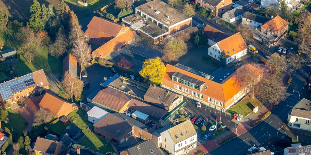 Die Lambertusschule in Lippramsdorf.