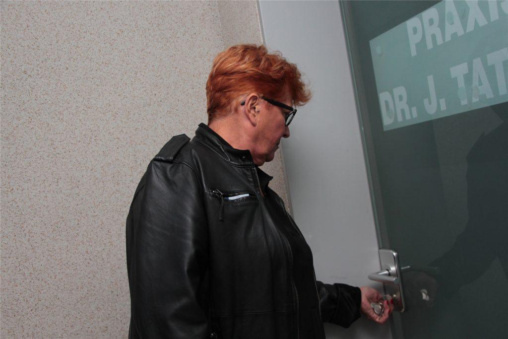 Kornelia Nordhoff schließt die Räume Am Neutor 3 auf.