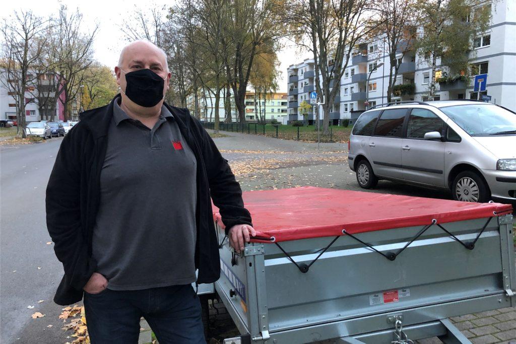 Frank Schönlau hat in Corona-Zeiten eine Anhängervermietung als Hobbyprojekt und Nebenverdienst gegründet