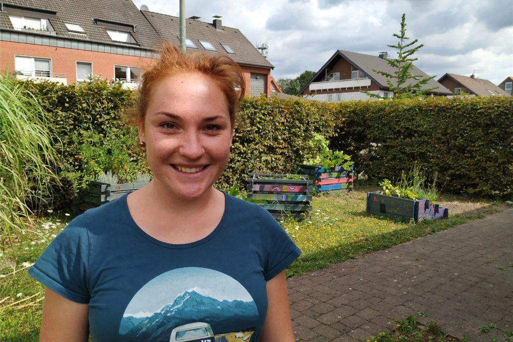 Britta Vollnhals leitet die OT Freiraum in Grafenwald und findet es sehr schade, dass die Einrichtung im November schließen muss.