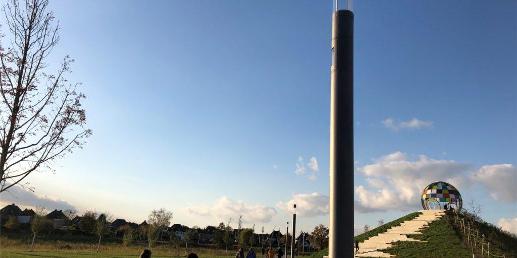 Der Auenpark wird nachts beleuchtet. Und Videoüberwachung gibt es mittlerweile auch.