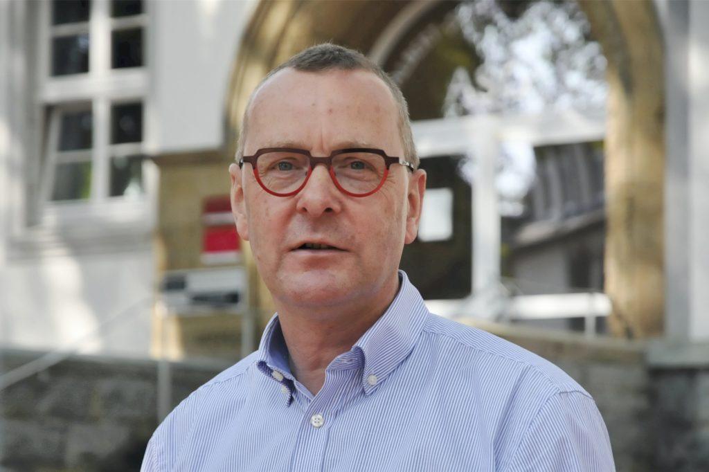 Joachim Höck ist Schulleiter am ASG.