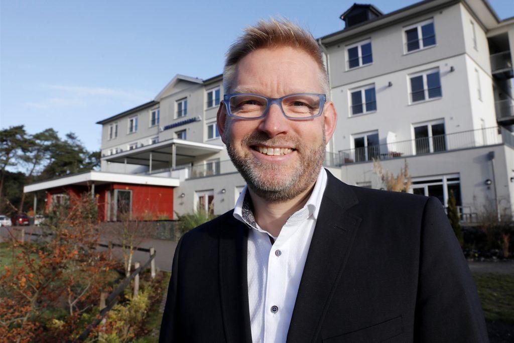Michael Falkenreck leitet die Jugendherberge Haltern.