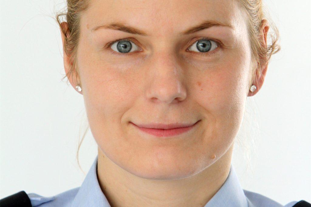 Dana Seketa ist Pressesprecherin der Polizei Dortmund.