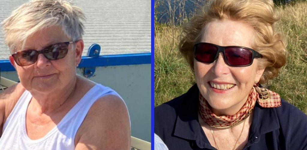 Wegen der Corona-bedingten Abstandsregeln gibt es kein aktuelles gemeinsames Bild der Freundinnen. Aber auch in dieser Zeit hält die Freundschaft von Marie Theisen-Wiegand (l.) und Anette Wiegand.