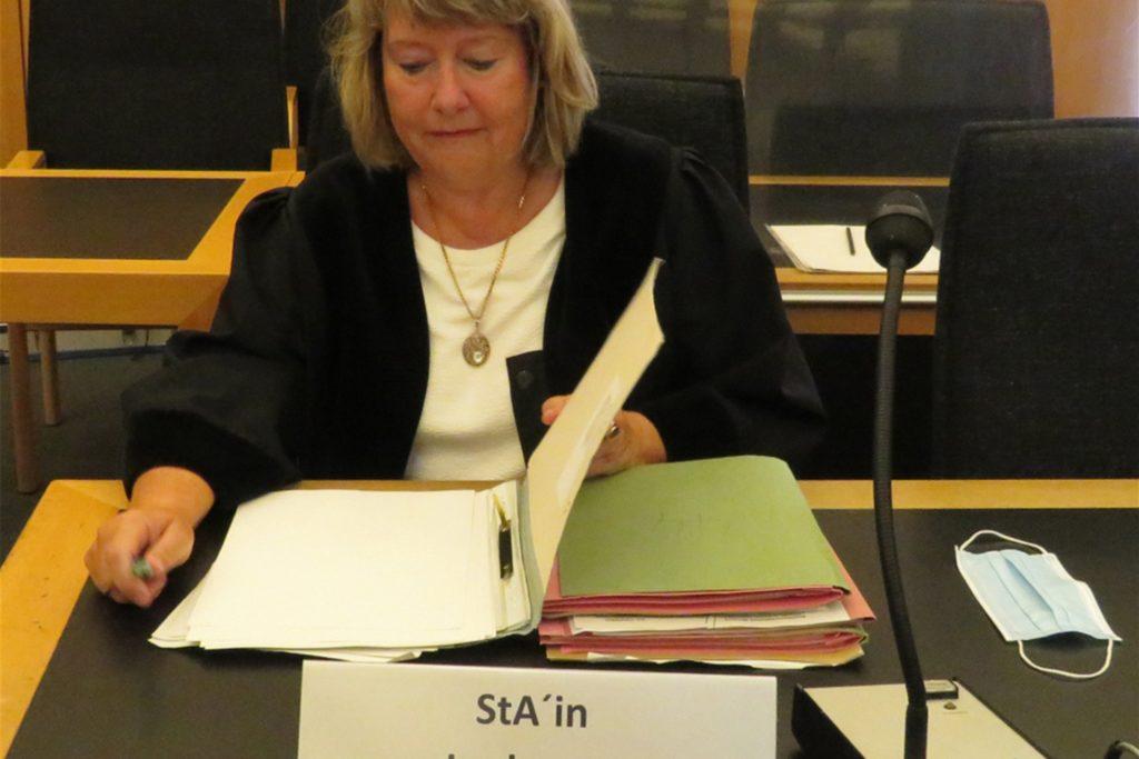 Staatsanwältin Elfi Lechtape beklagt die zähe Prozessstrategie der Verteidigung.