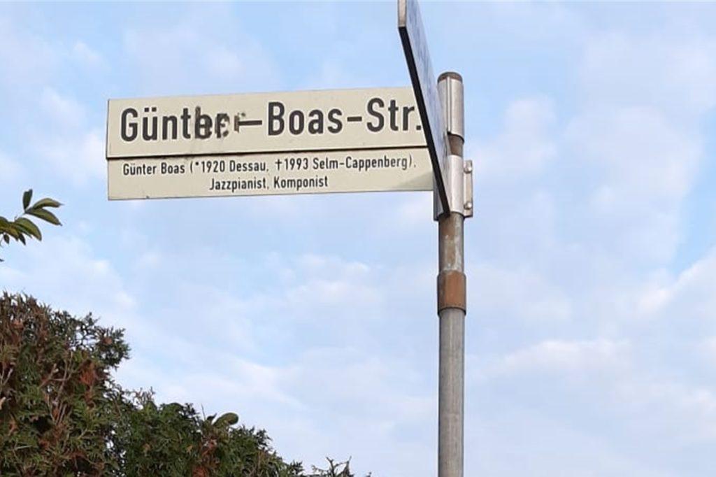 Im Lüner Norden gibt es die Günter-Boas-Straße, benannt nach dem bekannten Jazz-Pianisten.
