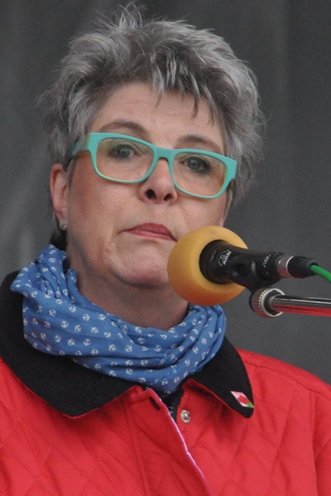 Caterpillar-Betriebsratschefin Martina Vogelgesang