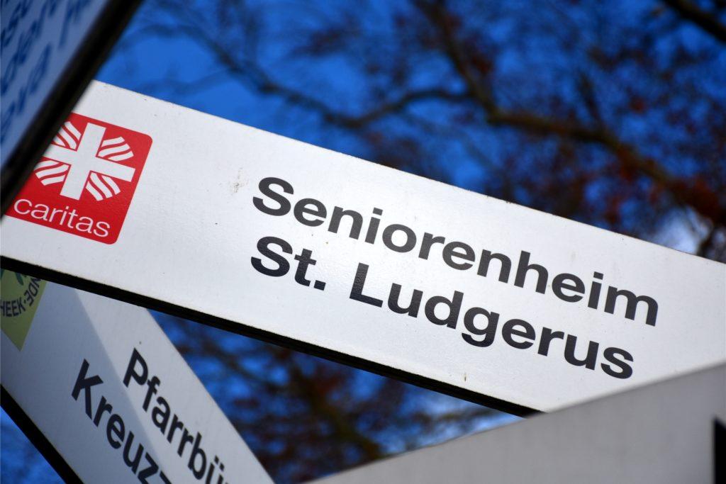 Wegen der Zahl der erkrankten Mitarbeiter in der Einrichtung ist die Personalplanung im Seniorenheim St. Ludgerus aktuell eine große Herausforderung.