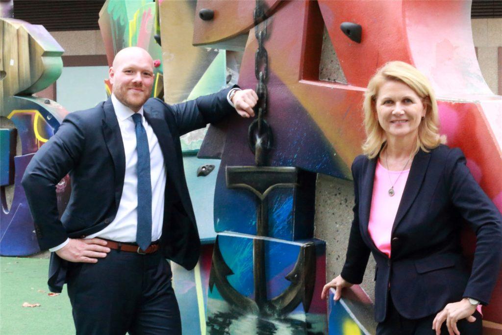 Der SPD-Vorstand schlägt den Mitgliedern Sabine Poschmann und Jens Peick für den Bundestag vor.