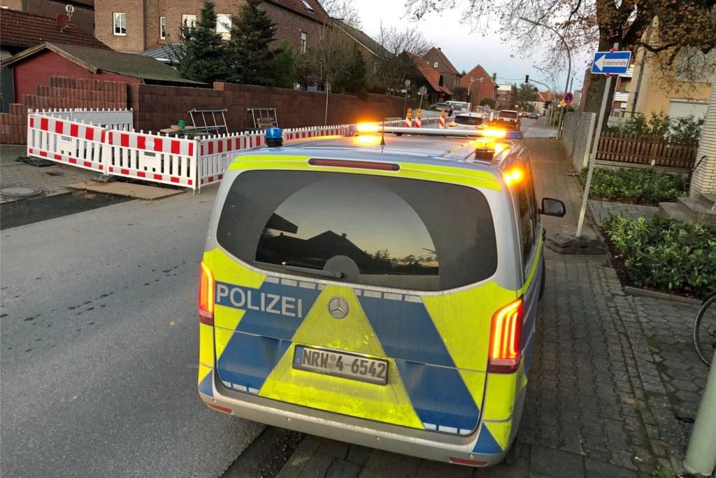 Ein Familienstreit im Holtkamp löste am Freitagnachmittag, 20. November, einen größeren Polizeieinsatz aus.