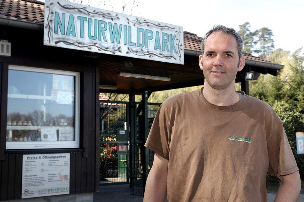 Holger Beckmann betreibt den Naturwildpark Granat.