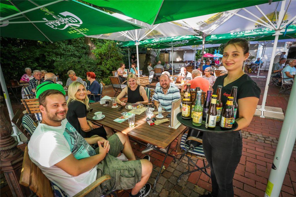 Bilder wie diese gibt es während der Corona-Krise nicht. Antonio Link hofft wie wohl alle Dortmunder Gastronomen schnell auf bessere Zeiten.