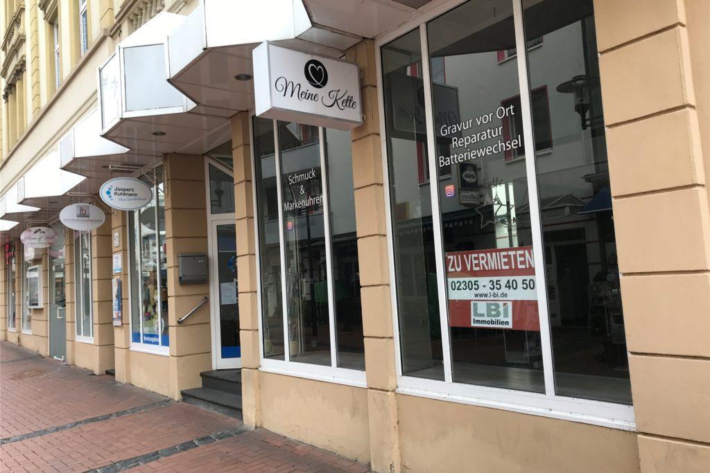 Bei der jüngsten Zählung standen mehr Ladenlokale leer als vor vier Jahren.