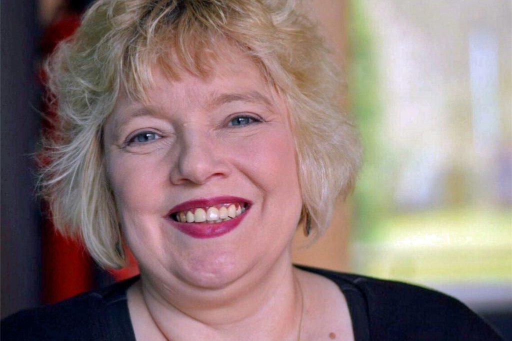 Sabine Seibel (hier im Februar 2018) kritisiert das Werbebanner mit Sophia Thomalla.