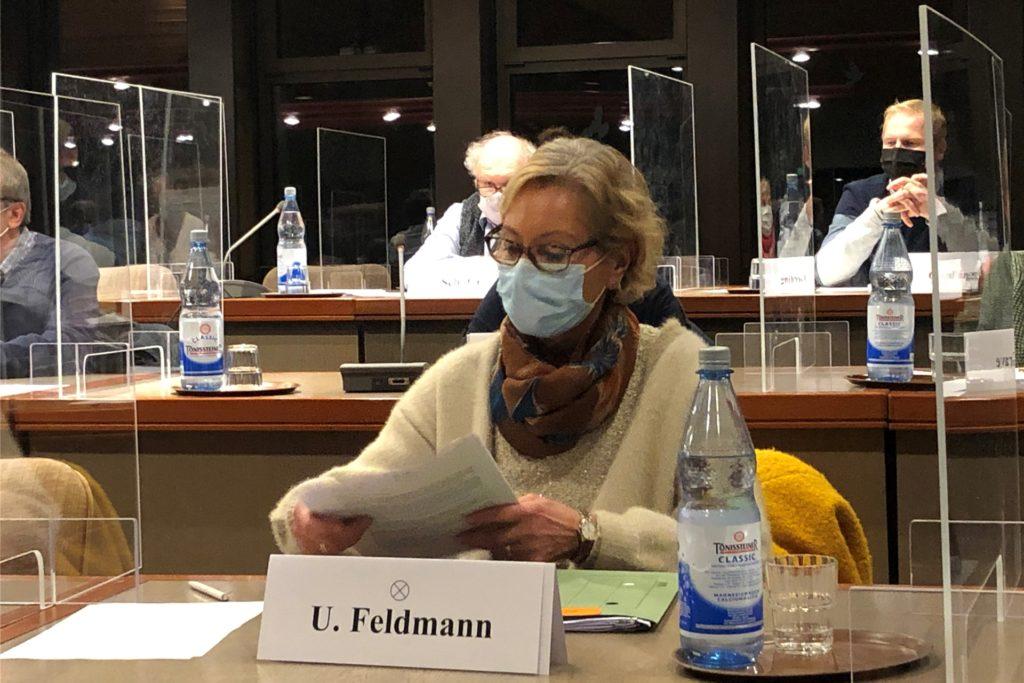 Der Ausschuss Generationen und Soziales wählte Ursula Feldmann (CDU) einstimmig zu seiner Vorsitzenden.