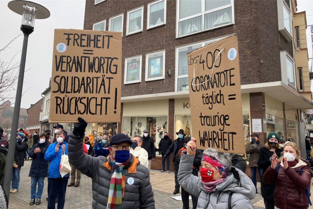 Querdenker Demo Dorsten 28.11.2020