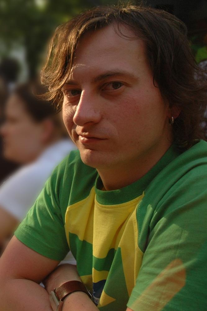 Der Autor am 9. Juni 2006, kurz vor dem Anpfiff der Fußball-WM, zwei Tage vor dem Konzert der Red Hot Chili Peppers.