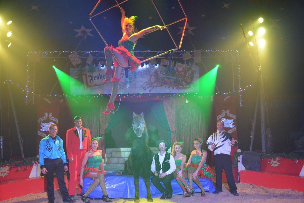 Der Weihnachtscircus der Familie Kaselowsky findet normalerweise jedes Jahr in Dorsten statt.