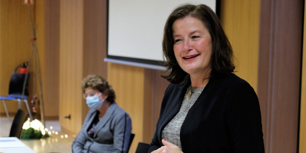 Freut sich auf die neue Aufgabe am Berufskolleg in Castrop-Rauxels größter Schule: Birgit Becker.